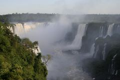 Iguazu Falls, Brazil, South America Stock Image