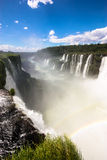 Iguazu Falls. From Devil's Throat, Argentina royalty free stock photography