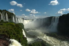 Iguazu Falls - Devil's Throat Stock Photography