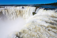 The Iguazu Falls Stock Image