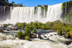 The Iguazu Falls Royalty Free Stock Images