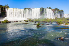 The Iguazu Falls Stock Photo