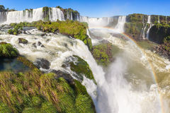 The Iguazu Falls Stock Images
