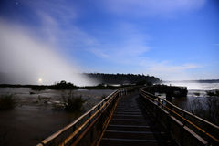 Iguazu falls, Devils Throat, Garganta del Diablo Stock Photography