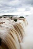 Iguazu Falls, el Brasil Imágenes de archivo libres de regalías