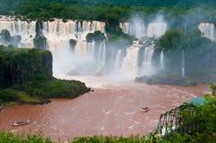 Iguazu Falls, el Brasil, Suramérica foto de archivo