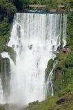 Iguazu Falls en Argentine Image stock