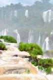 Iguazu Falls en el Brasil Fotos de archivo libres de regalías