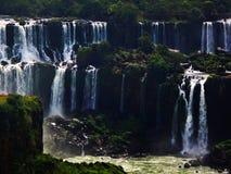 Iguazu Falls en el Brasil foto de archivo