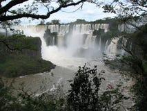 Iguazu Falls en la Argentina Imagen de archivo libre de regalías