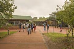 Iguazu Falls Entrance at Argentinian Border Stock Photos