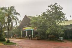 Iguazu Falls Entrance at Argentinian Border Royalty Free Stock Image