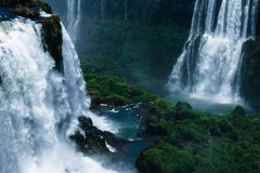 Iguazu Falls. Foz do Iguazu, Brazil Stock Images