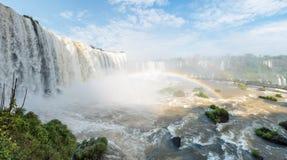 Iguazu Falls i det Parana landskapet, Brasilien Royaltyfri Foto