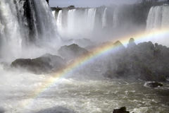 Iguazu Falls. Iguassu Falls, or Iguaçu Falls, National Park Do Iguacu, Parana, Southern Brazil Stock Image