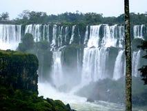Iguazu Falls l'argentine image stock