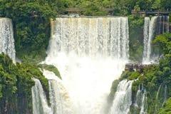 Iguazu Falls, la Argentina Imágenes de archivo libres de regalías