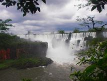 Iguazu Falls, la Argentina fotografía de archivo