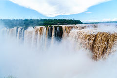 Iguazu Falls, the largest waterfalls Royalty Free Stock Images