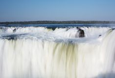 Iguazu Falls. Located on the border of Brazil and Argentina Stock Photography