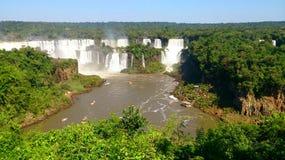 Iguazu Falls - Misiones - Argentina Fotografering för Bildbyråer
