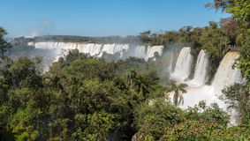 Iguazu Falls in Misiones Province, Argentina Royalty Free Stock Images