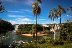 Iguazu Falls. Puerto Iguazu, Argentina Royalty Free Stock Photography