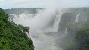 Iguazu falls seen from the Brasilian side