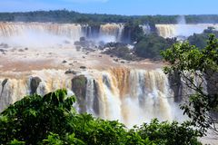 Iguazu Falls Royalty Free Stock Photos