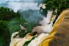 Iguazu Falls, the Unesco world heritage site Royalty Free Stock Photography