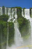 Iguazu Falls, waterfalls of the Iguazu River Stock Photos