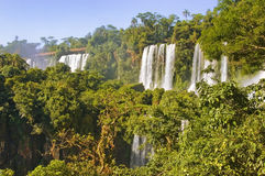 Iguazu Falls, waterfalls of the Iguazu River Royalty Free Stock Photography