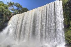 Iguazu falls. Iguazu waterfalls in Puerto Iguazu, Argentina Royalty Free Stock Image