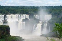 Iguazu (Iguassu) Dalingen Stock Foto