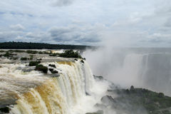 Iguazu (Iguassu) Falls Royalty Free Stock Photo