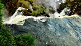 Iguazu ((Iguassu; Iguaçu)) Dalingen, Brazilië stock afbeeldingen