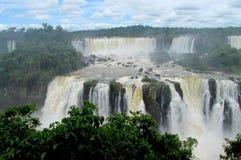 Iguazu (Iguassu) spadki Obrazy Stock