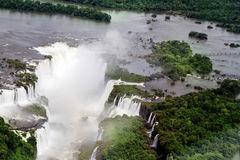 Iguazu, the most famous waterfalls Stock Photography