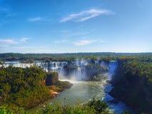 Iguazu nedgång Royaltyfri Bild