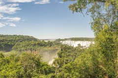 Iguazu Park Aerial View Royalty Free Stock Photo