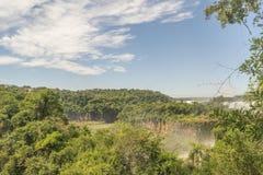 Iguazu Park Aerial View Royalty Free Stock Photos