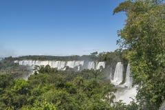Iguazu Park Waterfalls Landscape Royalty Free Stock Photography