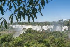 Iguazu Park Waterfalls Landscape Royalty Free Stock Photos