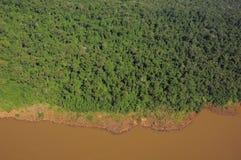 Iguazu river. Royalty Free Stock Images