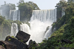 Iguazu spadek, Argentina Zdjęcie Royalty Free