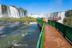 Iguazu spadki Obrazy Stock