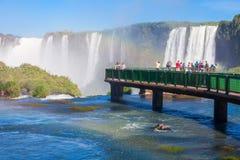 Iguazu spadki Obrazy Royalty Free