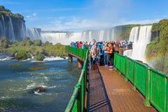 Iguazu spadki Zdjęcie Royalty Free