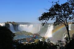 Iguazu valt Slepen, de Kant van Brazilië royalty-vrije stock foto