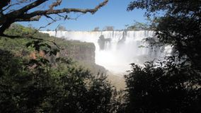 Iguazu vattenfall arkivfilmer